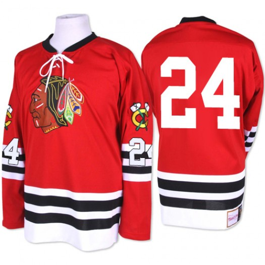 Martin Havlat Chicago Blackhawks Men's Mitchell and Ness Authentic Red 1960-61 Throwback Jersey