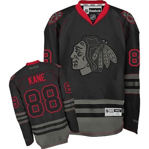 Patrick Kane Chicago Blackhawks Men's Reebok Authentic Black Ice Jersey