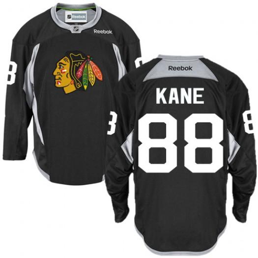 Patrick Kane Chicago Blackhawks Men's Reebok Authentic Black Practice Jersey