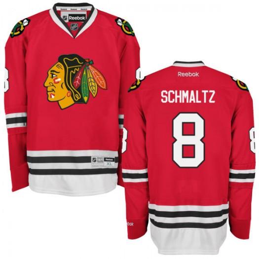Nick Schmaltz Chicago Blackhawks Men's Reebok Premier Red Home Jersey