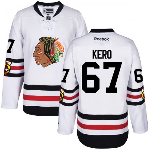 Tanner Kero Chicago Blackhawks Men's Reebok Premier 2017 Winter Classic Jersey