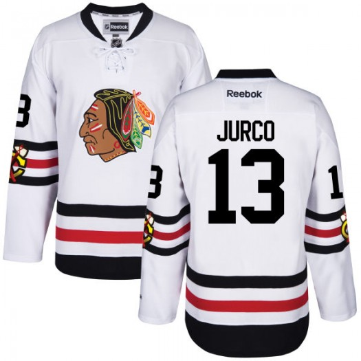Tomas Jurco Chicago Blackhawks Men's Reebok Premier 2017 Winter Classic Jersey