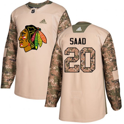 Brandon Saad Chicago Blackhawks Youth Adidas Premier White Away Jersey