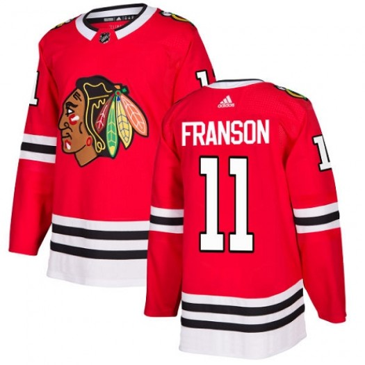 Cody Franson Chicago Blackhawks Youth Adidas Authentic Red Home Jersey