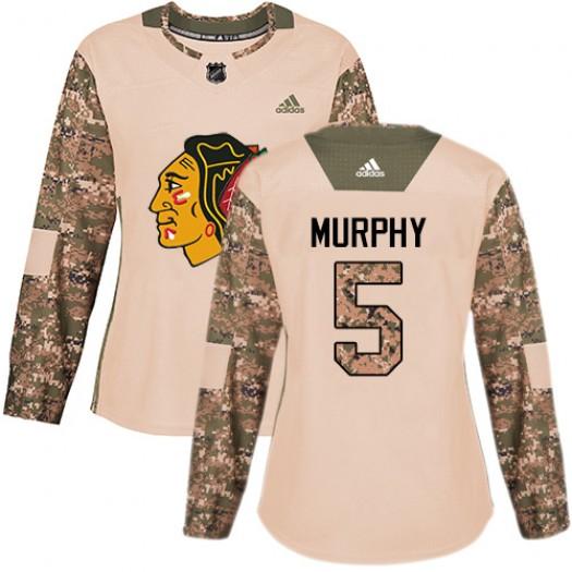 Connor Murphy Chicago Blackhawks Women's Adidas Premier White Away Jersey