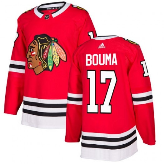 Lance Bouma Chicago Blackhawks Men's Adidas Premier Red Home Jersey