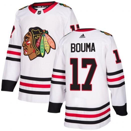 Lance Bouma Chicago Blackhawks Youth Adidas Authentic White Away Jersey
