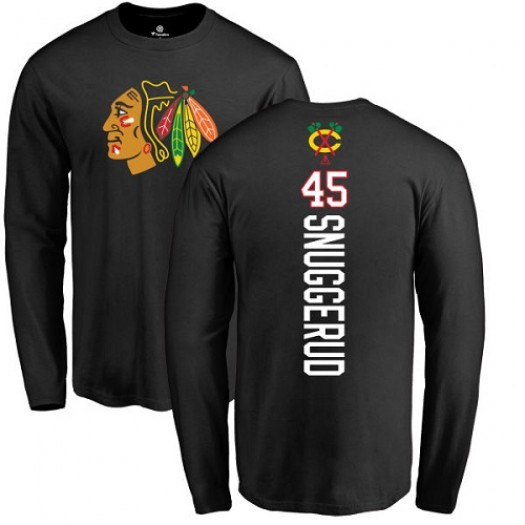Luc Snuggerud Chicago Blackhawks Youth Adidas Premier Red Home Jersey