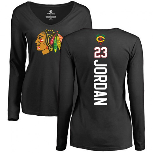 Michael Jordan Chicago Blackhawks Women's Adidas Premier Red Home Jersey