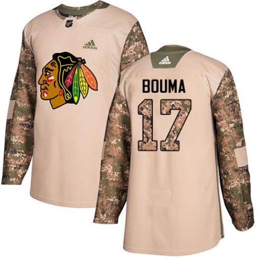 Lance Bouma Chicago Blackhawks Youth Adidas Authentic Camo Veterans Day Practice Jersey