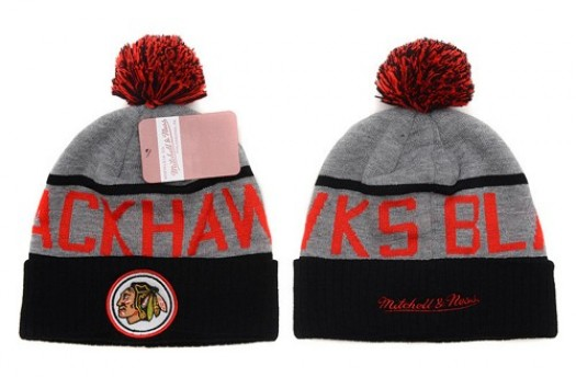 Chicago Blackhawks Men's Stitched Knit Beanies Hats 019