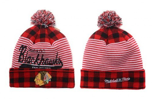 Chicago Blackhawks Men's Stitched Knit Beanies Hats 020
