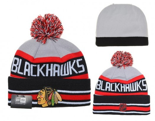 Chicago Blackhawks Men's Stitched Knit Beanies Hats 022