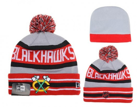 Chicago Blackhawks Men's Stitched Knit Beanies Hats 023