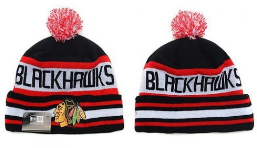 Chicago Blackhawks Men's Stitched Knit Beanies Hats 026