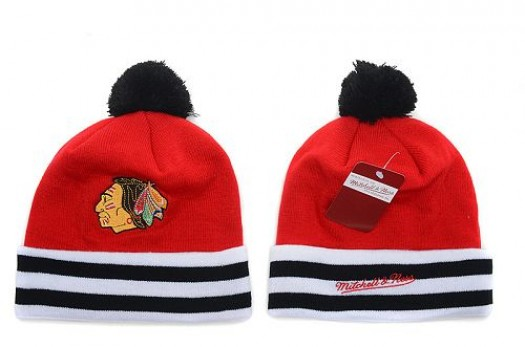 Chicago Blackhawks Men's Stitched Knit Beanies Hats 027