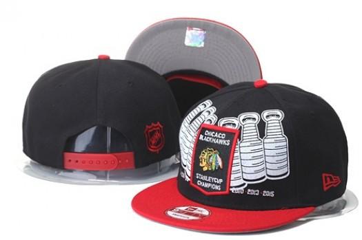 Chicago Blackhawks Men's Stitched Snapback Hats 010