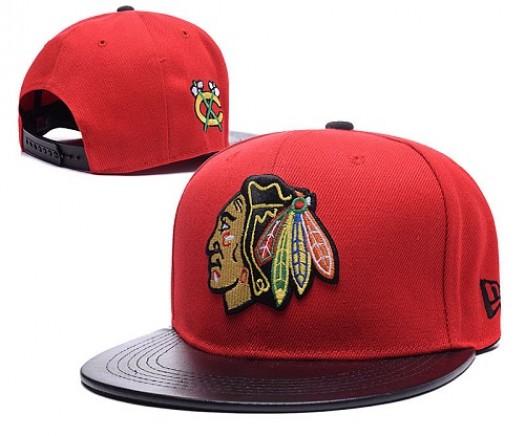 Chicago Blackhawks Men's Stitched Snapback Hats 014